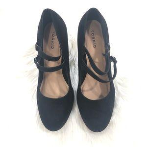 Torrid Black Platform Heels
